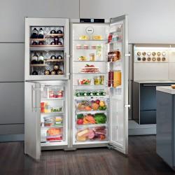 americká lednice s vinotékou Liebherr SBSes 7165